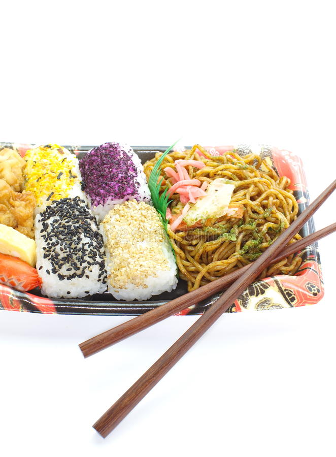 Download Japanese Ready-made Lunchbox, Bento Stock Photo - Image: 31502182
