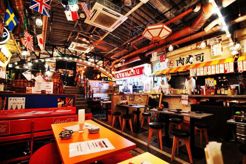 Japanese restaurant royalty free stock photos