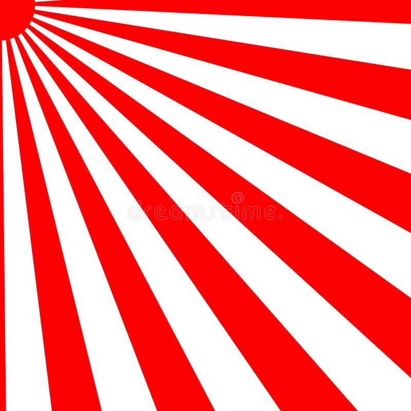 Free Japanese Rising Sun Sunbeams Stock Images - 3036244