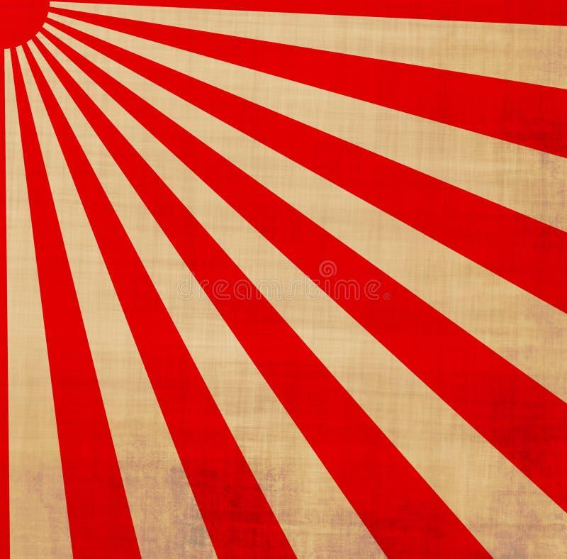 Download Japanese Rising Sun Sunbeams Stock Illustration - Image: 3090174