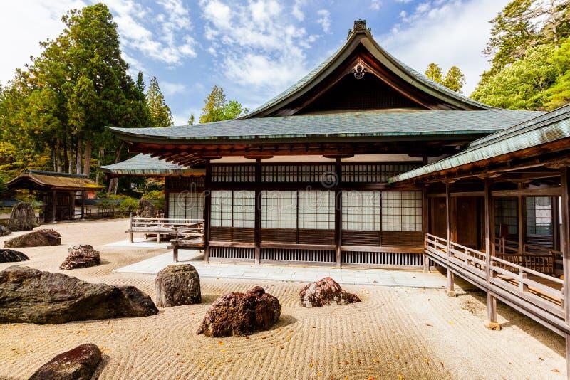 Japanese rock garden royalty free stock photography