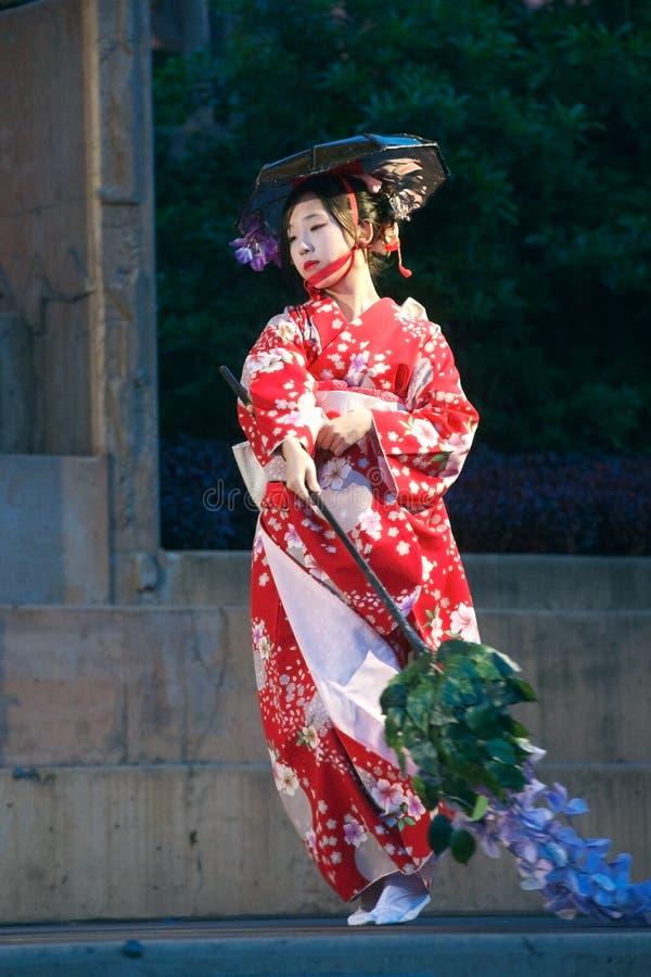 Sakura Dance stock photos
