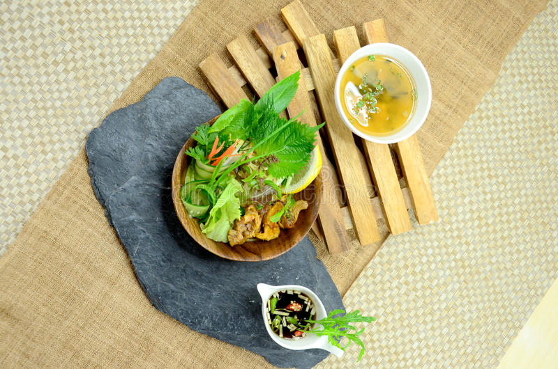 Japanese Salad royalty free stock photos