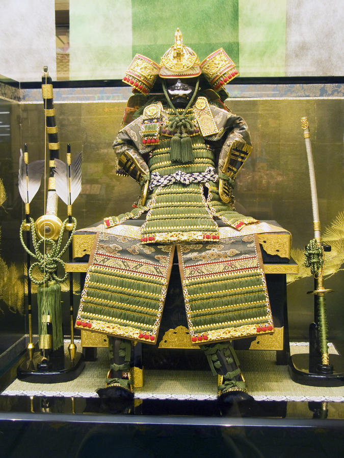 Free Japanese Samurai Armor Royalty Free Stock Photography - 9771777