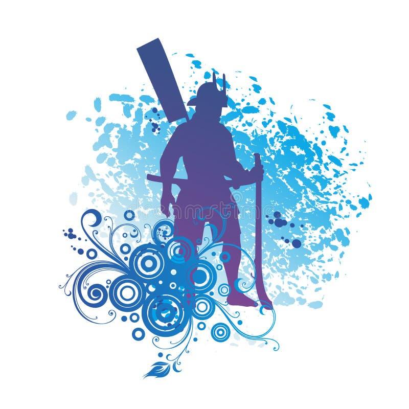 Japanese Samurai, Japanese Soldier, Matchlock Gunner.  royalty free illustration