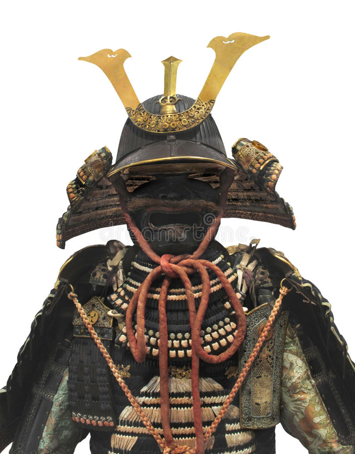 Download Japanese Samurai Warrior Helmet And Armor Isolated Stock Image - Image: 28795843