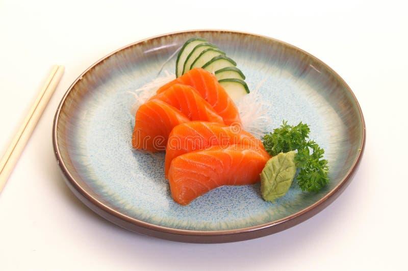 Japanese Sashimi. Fresh Japanese Sashimi served at famous eatery royalty free stock photos