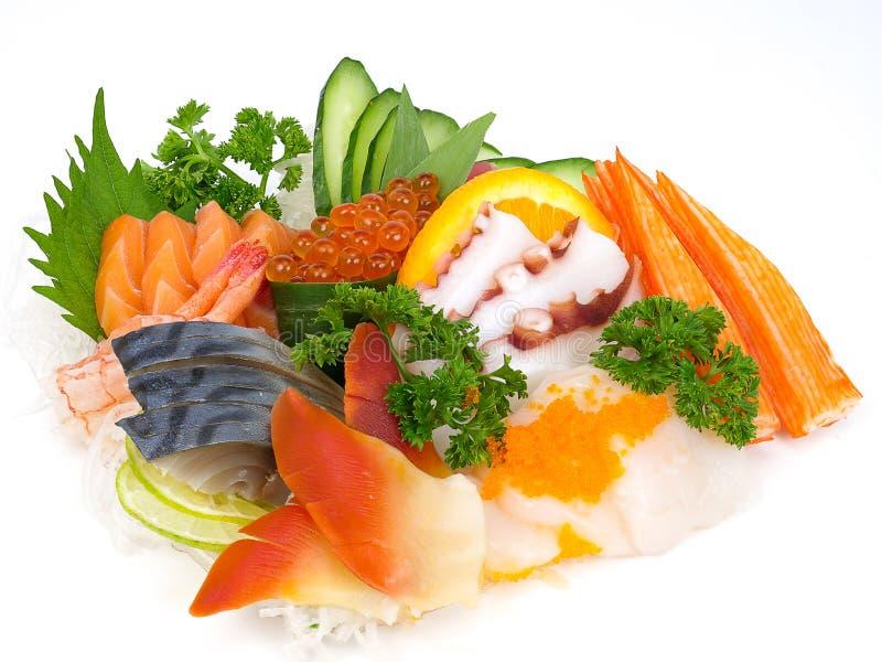 Japanese sashimi set royalty free stock images