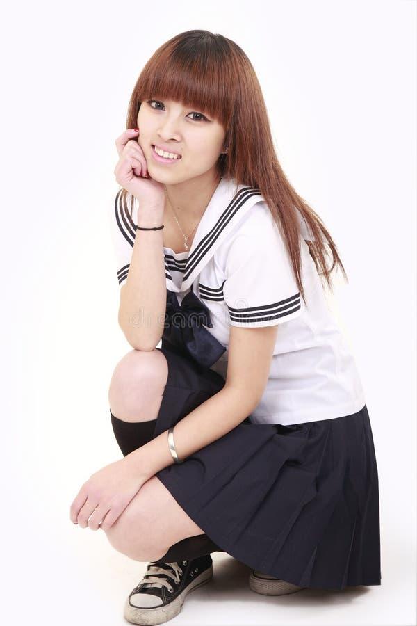 Free Japanese Schoolgirl Royalty Free Stock Photos - 12627078