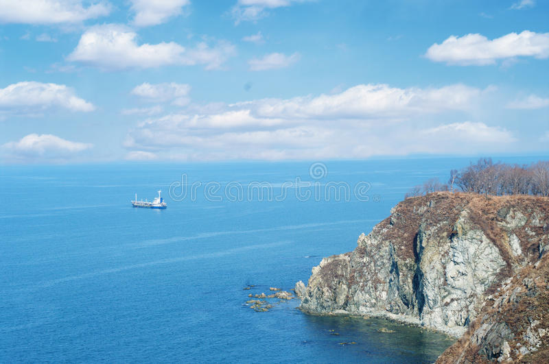 Download The Japanese sea stock image. Image of nachodka, purple - 13950449