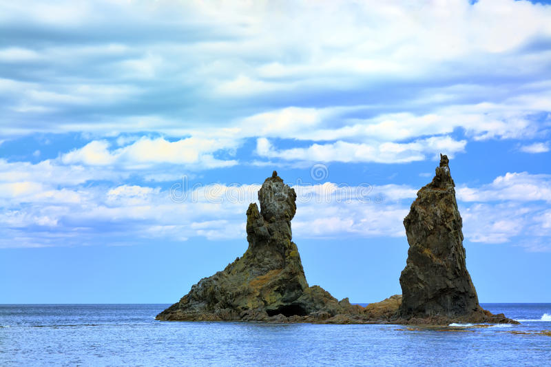 Download Japanese sea stock photo. Image of nobody, rocky, beauty - 9948230