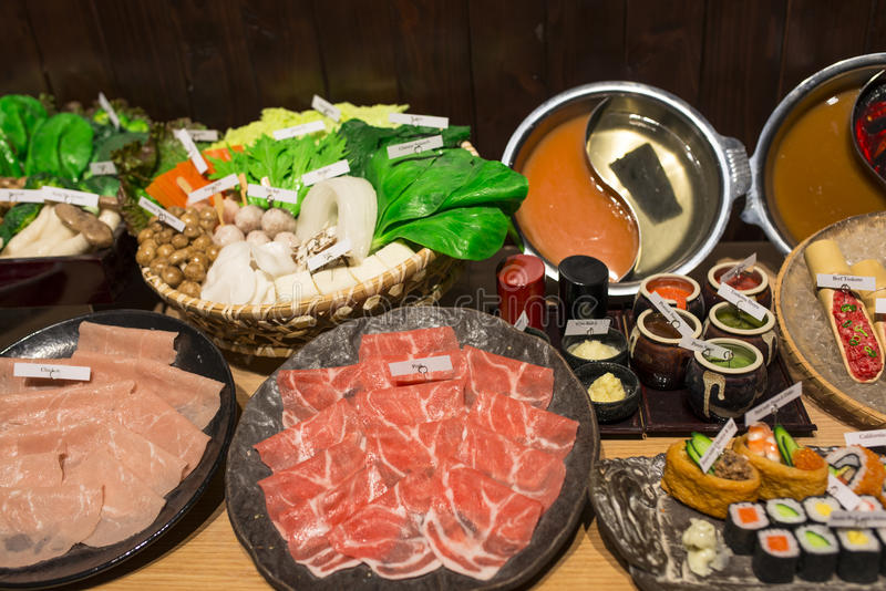 Download Japanese Shabu Shabu stock image. Image of japanese, cuisine - 33410231