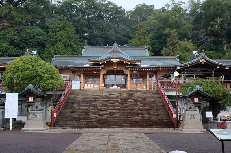 Japanese shrine and culture. royalty free stock images
