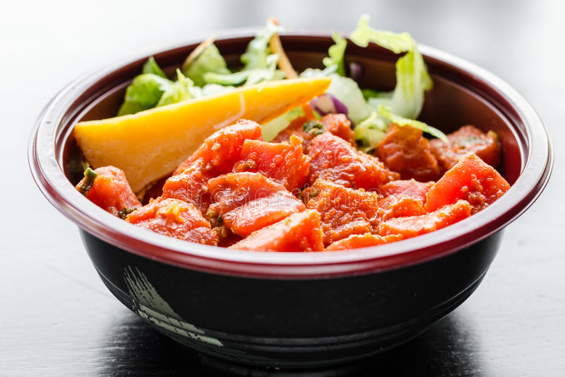 Japanese Spicy Fish Bowl royalty free stock image
