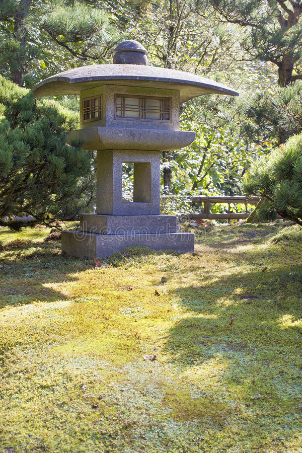Download Japanese Stone Lantern stock image. Image of asian, garden - 26333969
