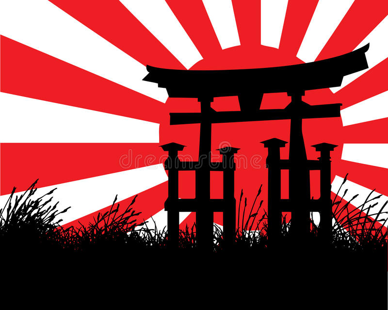 Japanese Style vector illustration