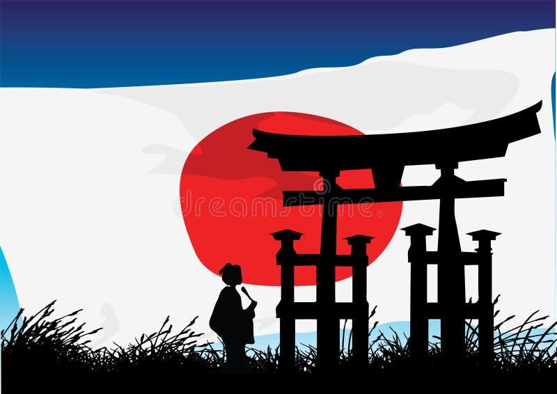 Japanese Style royalty free illustration