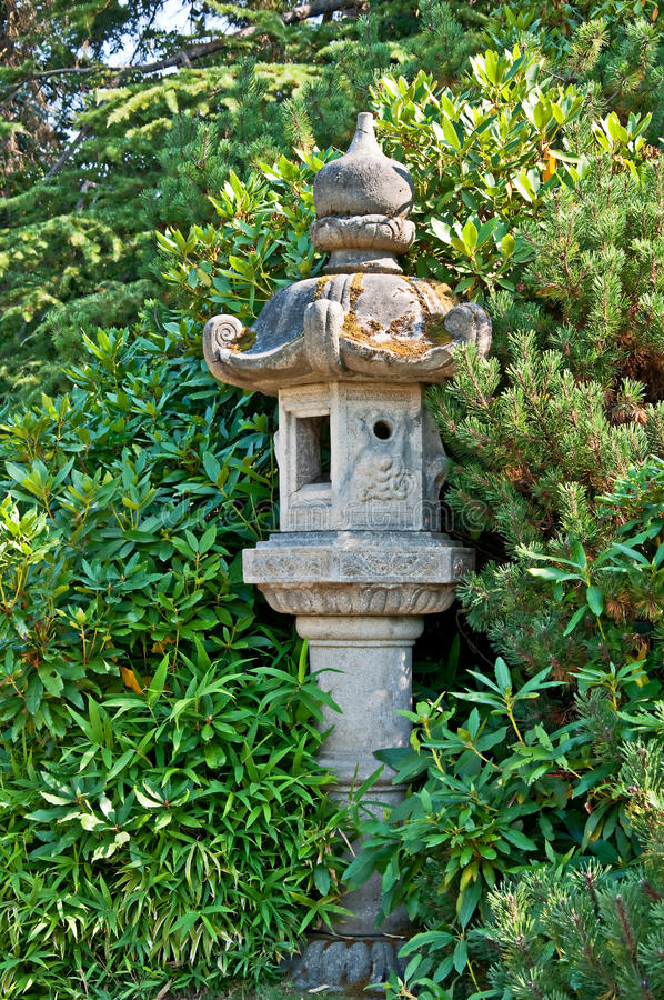 Download Japanese Style Garden Decor Stock Photo