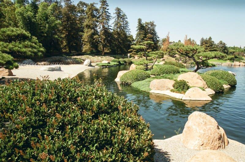 Japanese Style Garden stock image