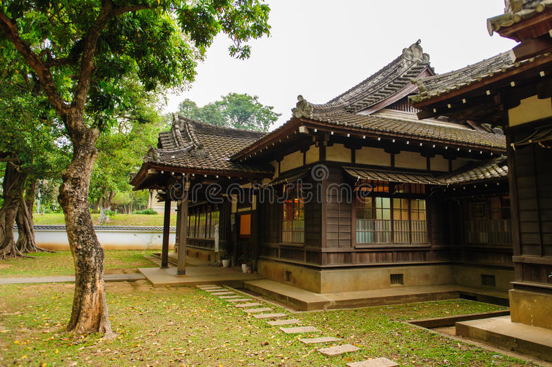 Japanese style house in taiwan stock photo image 47809637 for Asian house exterior design
