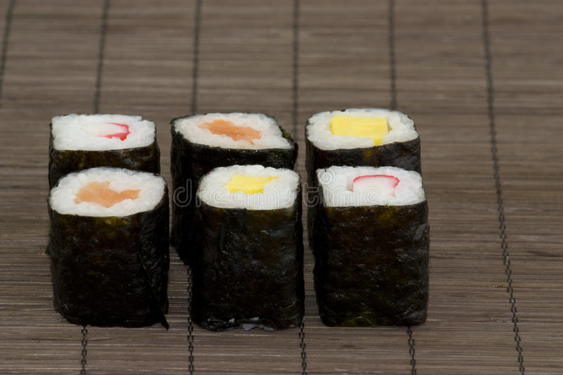 Download Japanese sushi stock photo. Image of asia, dieting, salmon - 14098638