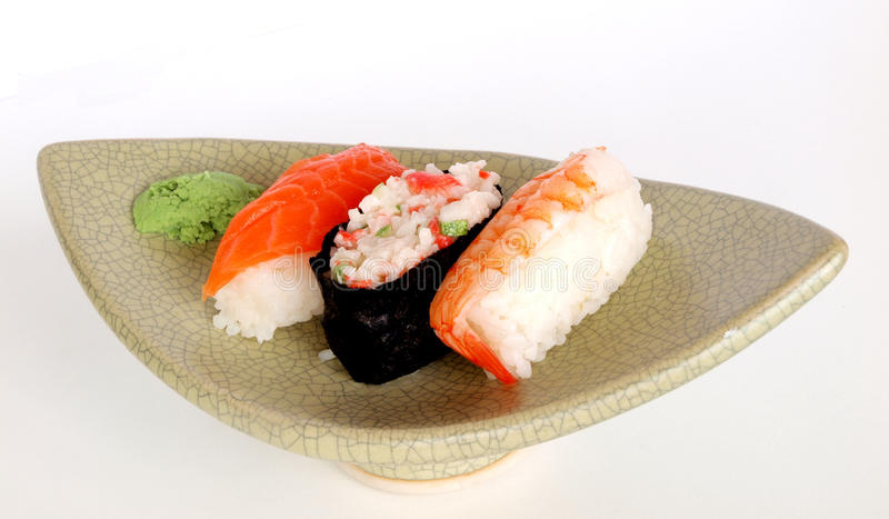 Download Japanese Sushi stock photo. Image of seafood, pungent - 19927196