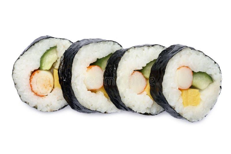 Japanese sushi roll stock photo