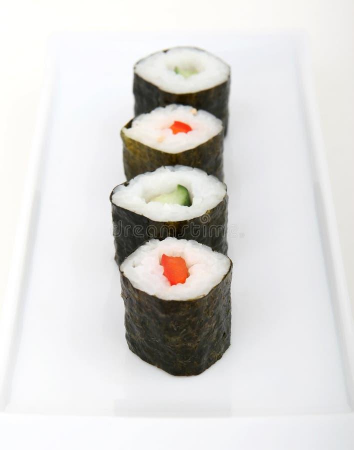 Download Japanese sushi seafood stock photo. Image of salmon, food - 1338094