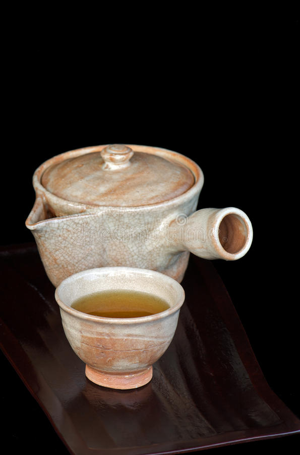 Japanese tea stock images