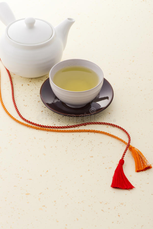 Free Japanese Tea And Japanese Braid Royalty Free Stock Photos - 19110158