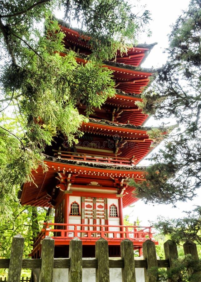 Japanese Tea Garden, Golden Gate Park, San Francisco, California, CA stock photos