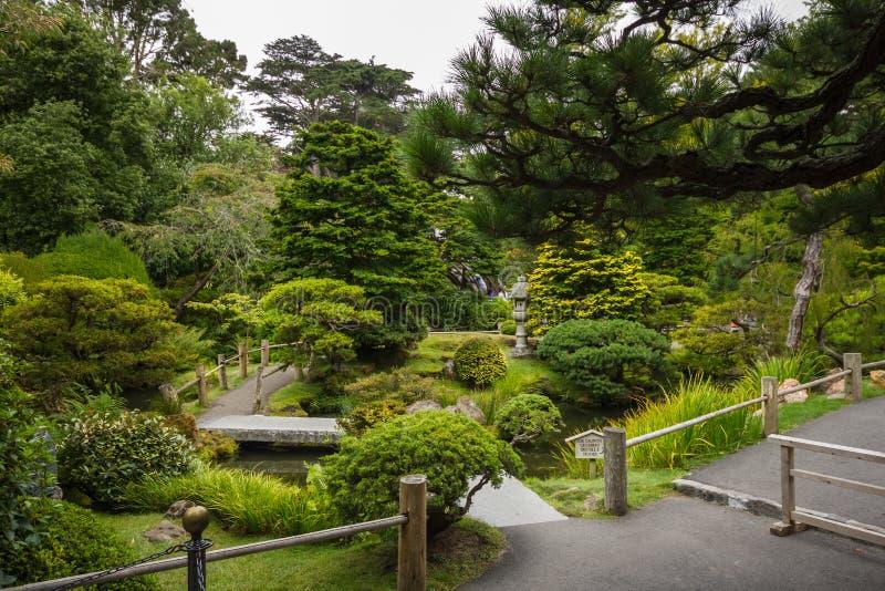 Japanese Tea Garden in San Francisco royalty free stock images