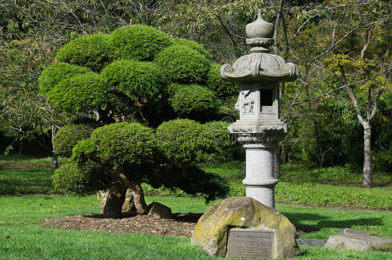 The Japanese Tea Garden , San Francisco, USA. royalty free stock photos