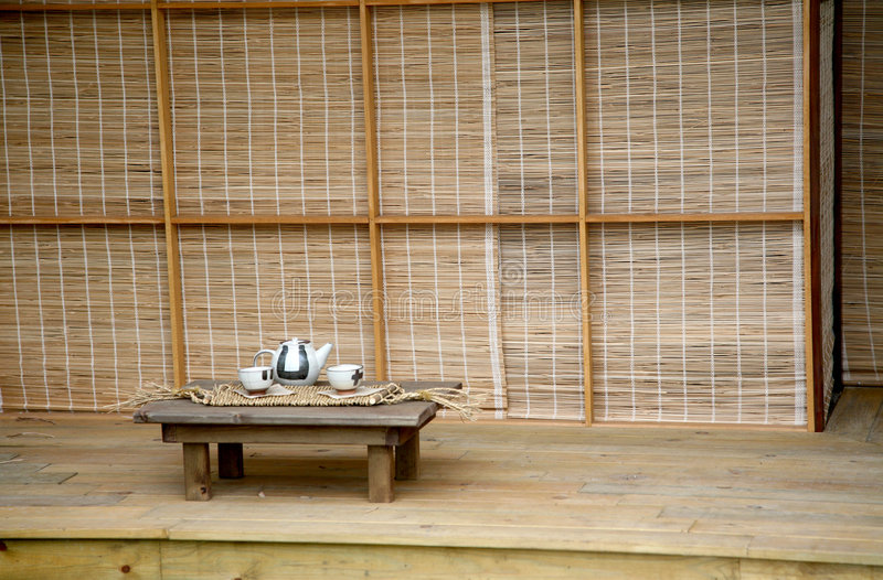 Download Japanese tea house stock photo. Image of japanese, relaxation - 2394414