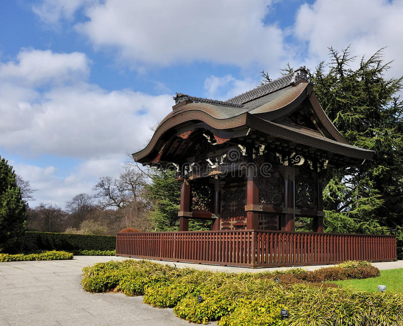 Download Japanese temple stock photo. Image of attractions, london - 18055182