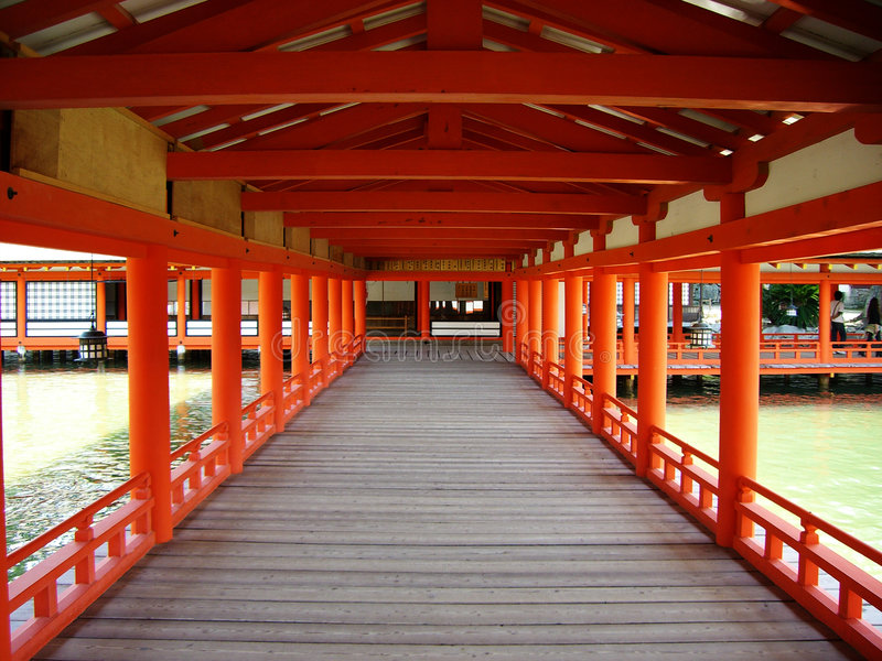Download Japanese Temple stock photo. Image of walkway, river, japan - 2349522