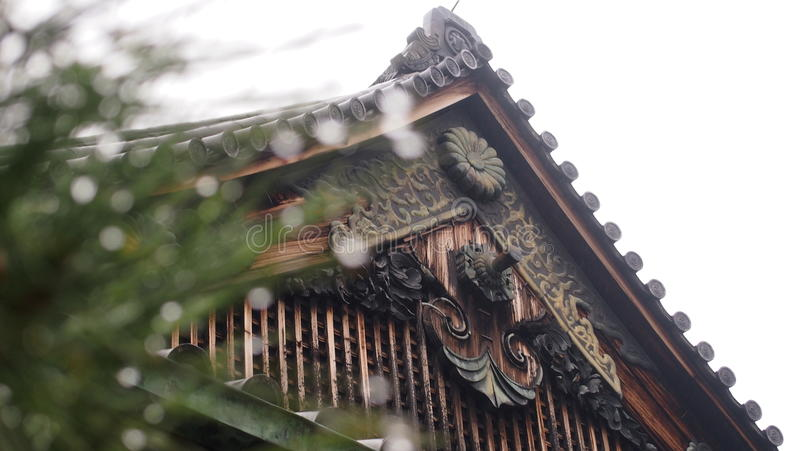 japanese temple стоковые изображения