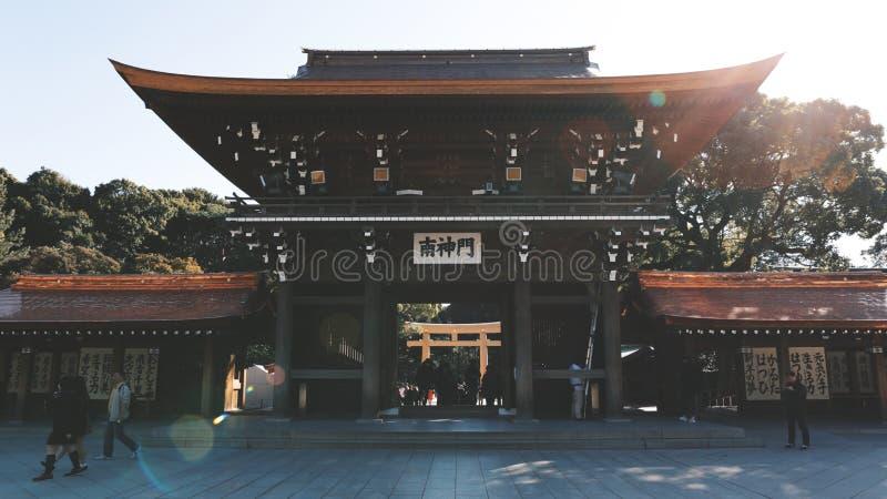japanese temple стоковая фотография