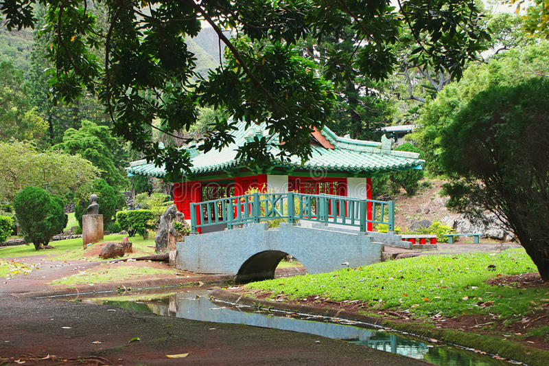 Download Japanese Temple Hawaii stock image. Image of hawaii, religious - 21952181