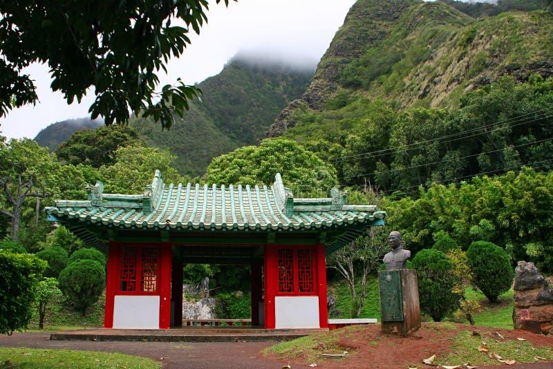 Japanese Temple in Kepaniwai