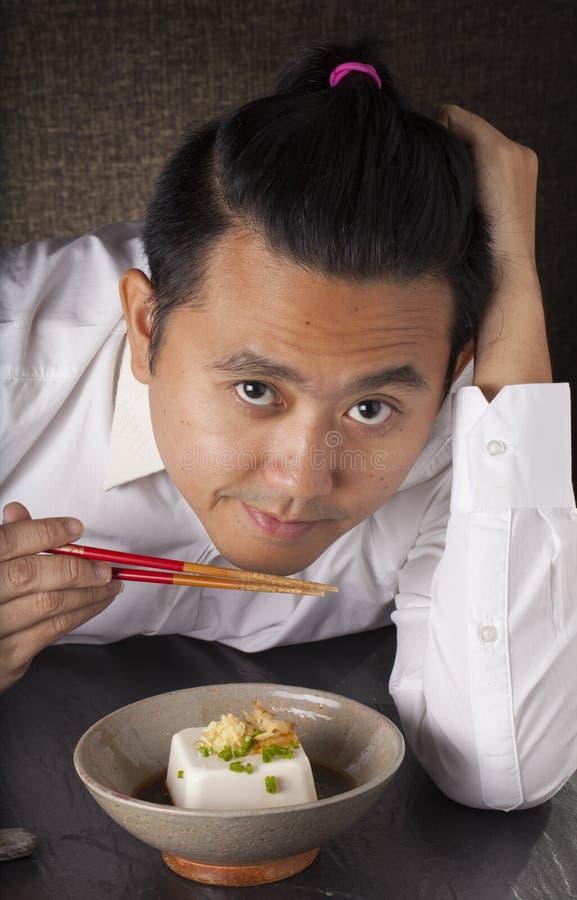 Download Japanese tofu stock photo. Image of soybean, soya, chopstick - 59106726