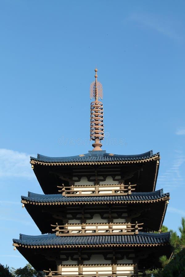 Japanese tower stock photos