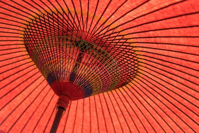 Japanese tradition umbrella stock photos