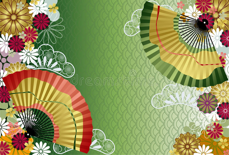 Japanese traditional pattern stock photography
