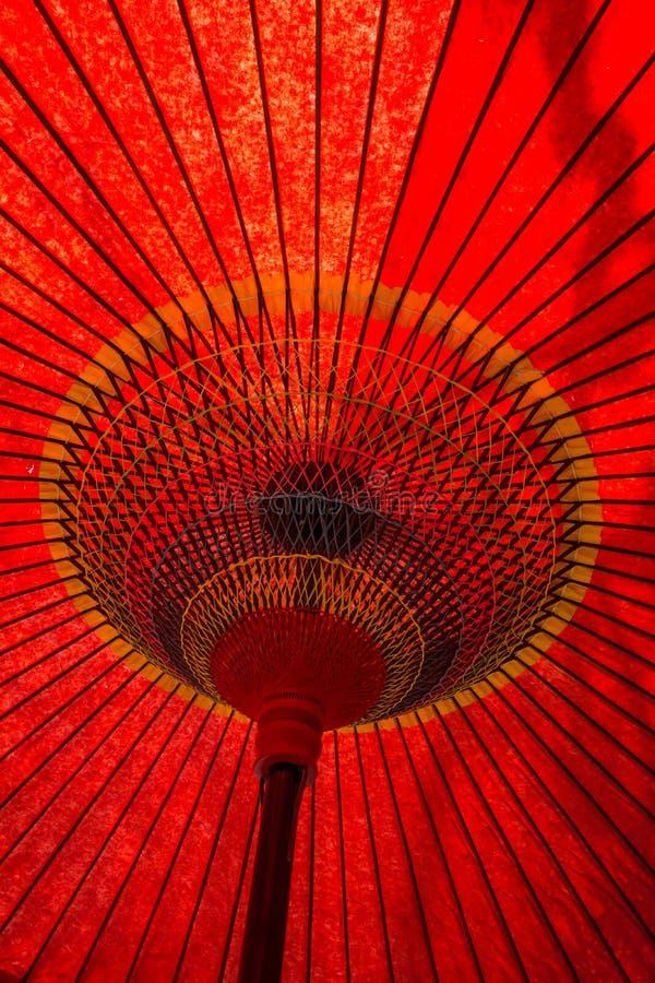 Japanese Traditional Umbrella Detail stock photos