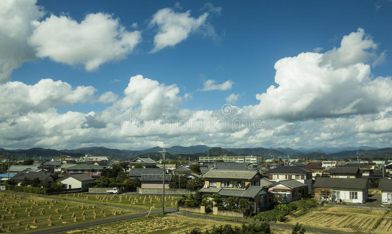 Download Japanese Traditional Village Stock Photo - Image of clouds, traditional: 35101406