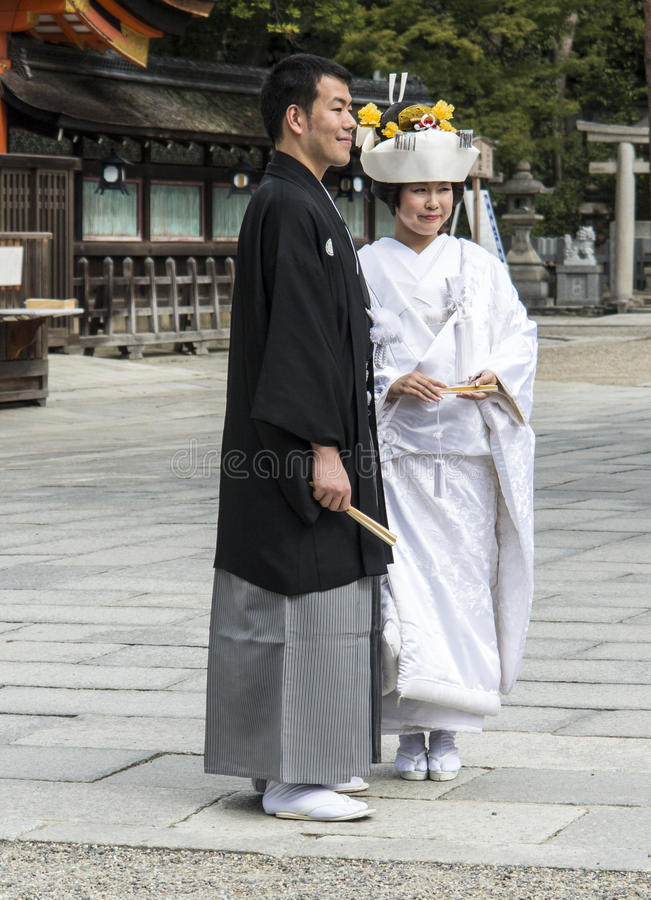 Download Japanese Traditional Wedding Couple Editorial Image - Image: 35100115