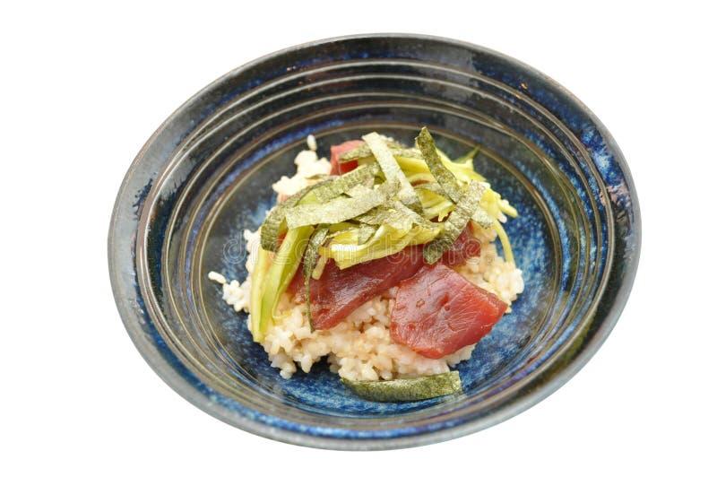 Japanese Tuna Donburi royalty free stock image