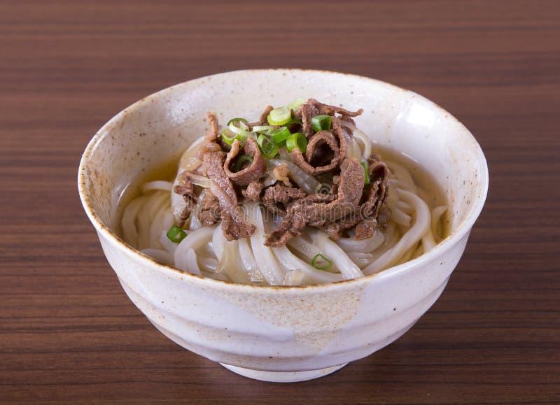 Japanese Udon Noodles stock photo. Image of tempura ...