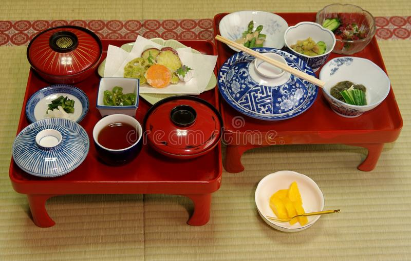 Japanese Vegetarian Meal royalty free stock image